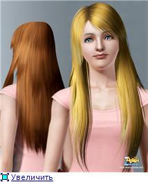 Прическа женская для Симс 3