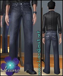 Джынсы для Sims 3