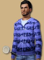 Свитер для Sims 3