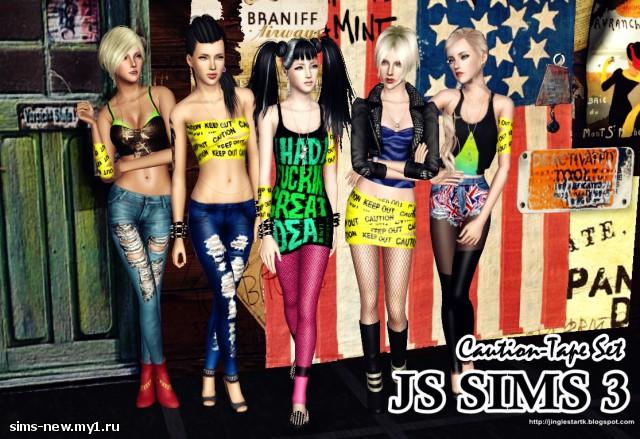Одежда и аксессуары от JS Sims 3