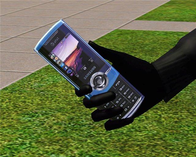 Заменяет стандартный телефон из игры