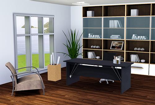 Набор: столик регистрации и обслуживания гостей, офисные кресла, кресла, Холст деко, таблица деко, Книжный шкаф