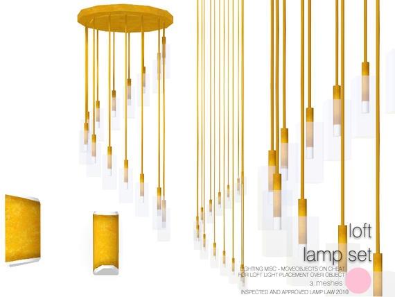 Loft Lamp Set by DOT