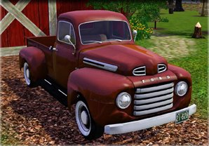 Ford F 1 Pick-Up Truck 1950
