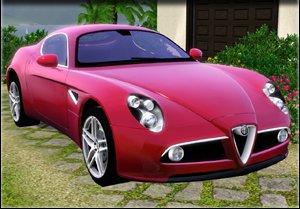 Alfa Romeo 8C Competizion