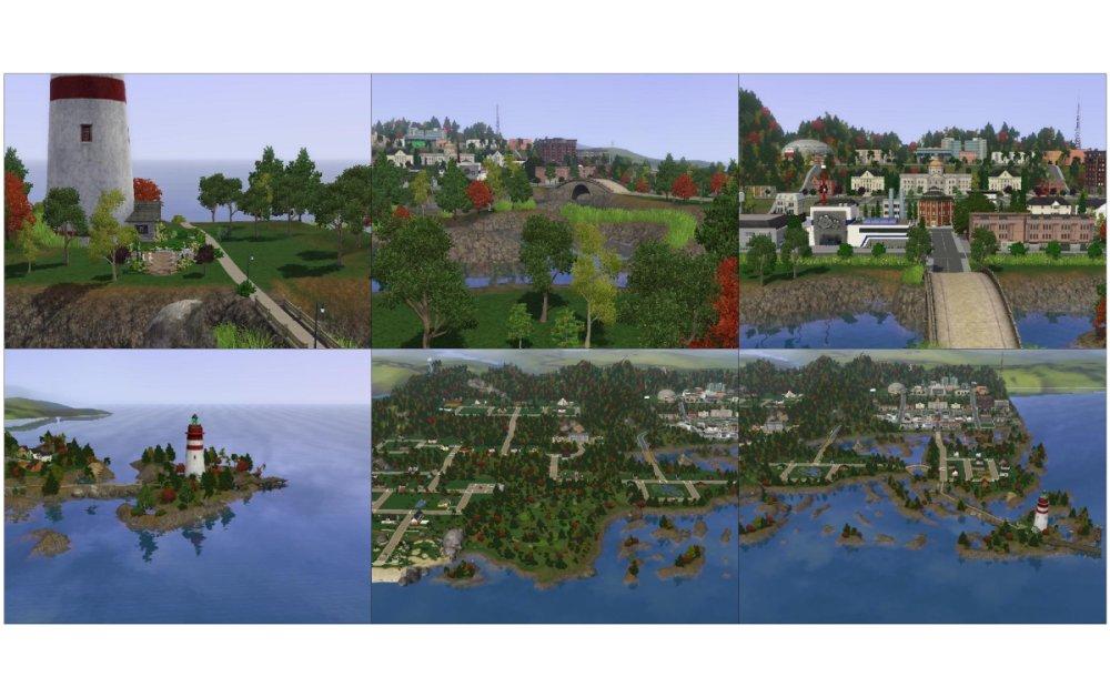 "Sims 3 ""Пак из 3 городов"""