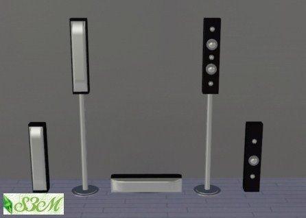 Музыкальный центр для Sims 3