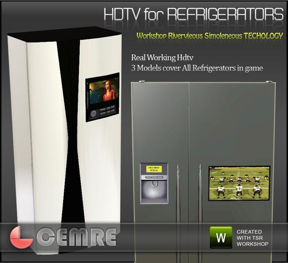 Мини-телевизор на холодильник