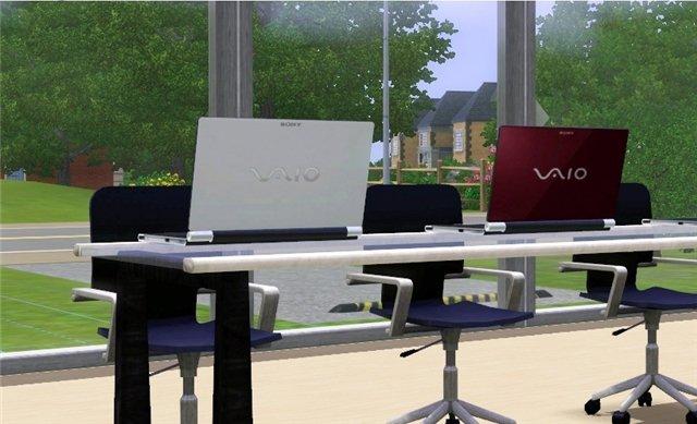 Ноутбук Sony Vaio для Sims 3